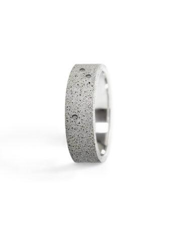 Neso Grey | Helioring & Gravelli